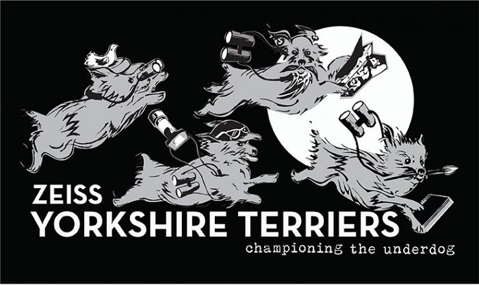 Our Yorkshire Terrier T-shirt design © Jo Ruth Design